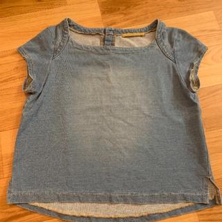 ローズバッド(ROSE BUD)のローズバッド購入 デニム トップス(カットソー(半袖/袖なし))