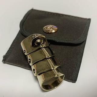 ヴィヴィアンウエストウッド(Vivienne Westwood)のアーマーリング ゴールド XS(リング(指輪))