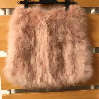 ニーナミュウ(Nina mew)のニーナミュウ   フェザースカート 新品(ミニスカート)