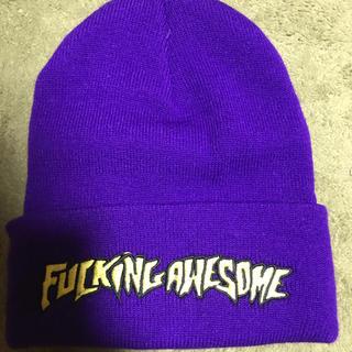 Supreme - fucking awesome ニット帽