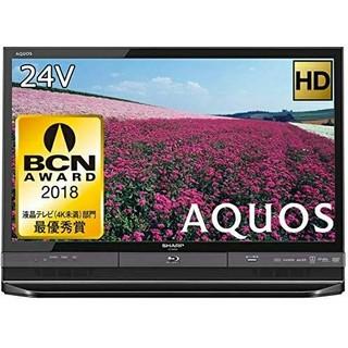 アクオス(AQUOS)のSHARP シャープ 24型液晶テレビ ハイビジョン LC-24R30-B(テレビ)
