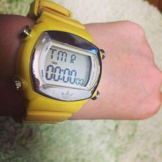 アディダス(adidas)のadidas デジタルウォッチ(腕時計)