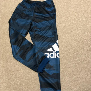 新品未使用adidasカモ柄パンツ150 160