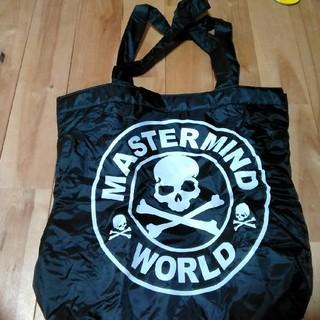 マスターマインドジャパン(mastermind JAPAN)の新品 未使用 マスターマインド トートバッグ ブラック×迷彩(トートバッグ)