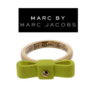 ★  Marc by Marc Jacobs 新品 指輪 リボン 定価の70%引