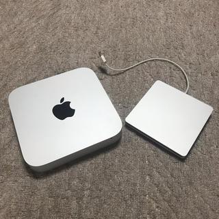 マック(Mac (Apple))の☆ Mac mini、スーパードライブの2点セット☆(デスクトップ型PC)