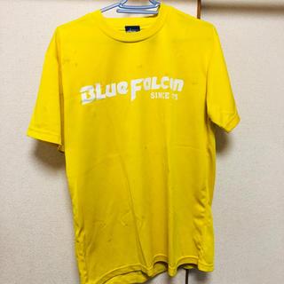 アシックス(asics)のハンドボール Tシャツ スポーツウェア 黄色 XOサイズ(Tシャツ/カットソー(半袖/袖なし))
