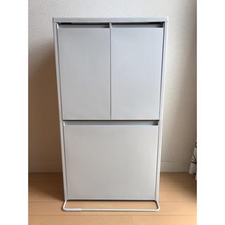 ムジルシリョウヒン(MUJI (無印良品))の無印良品 ゴミ箱 重ねて増やせるダストボックス(ごみ箱)