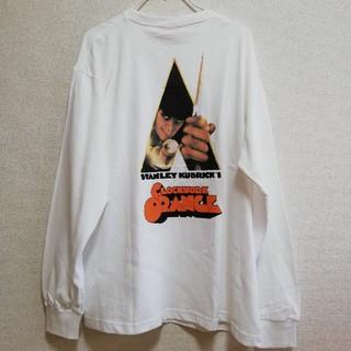 ニコアンド(niko and...)の時計じかけのオレンジ 刺繍入りロンT(Tシャツ/カットソー(七分/長袖))