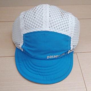 パタゴニア(patagonia)の【新品】パタゴニア ダックビルキャップ POBL ブルー(キャップ)