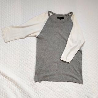 シップス(SHIPS)のSHIPS GENERAL SUPPLY ハーフ丈 Tシャツ(Tシャツ/カットソー(七分/長袖))