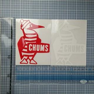 CHUMS - チャムス ステッカー 白 1枚