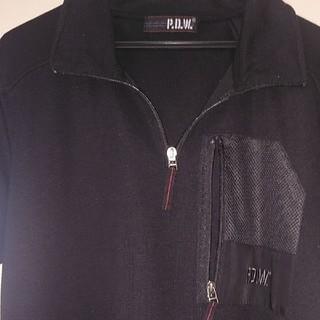 アヴィレックス(AVIREX)のアビィレックスポロシャツXL黒(ポロシャツ)