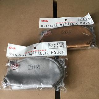 ローリーズファーム(LOWRYS FARM)のローリーズファーム ポーチ 2種 未使用新品 化粧バッグ LOWRYS FARM(ポーチ)