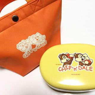 Disney - 【未使用】非売品 CHIP&DALE お弁当箱 & バッグ ディズニー