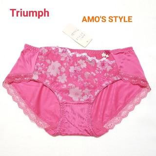 Triumph - トリンプ AMO'S STYLE 可愛い花柄ショーツM ローズ