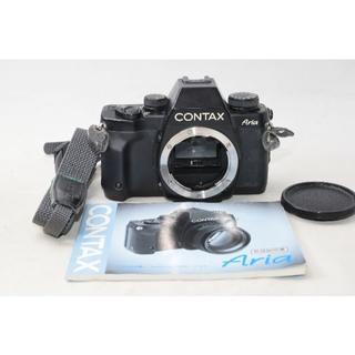 キョウセラ(京セラ)の人気極上品☆コンタックス CONTAX Aria アリア ボディ(フィルムカメラ)