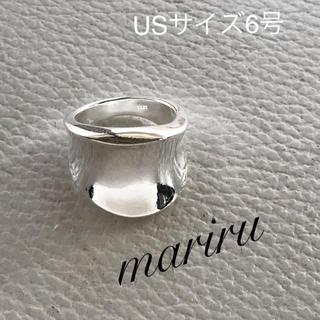ワイドリング  USサイズ6号(リング(指輪))