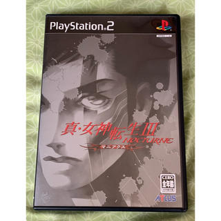 PlayStation2 - 美品 真・女神転生Ⅲ NOCTURNE ノクターン マニアクス PS2