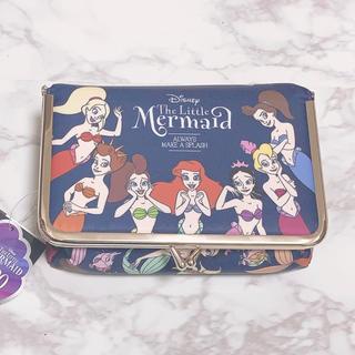 Disney - アリエル ポーチ シスターズ がま口 メイクポーチ ディズニー 限定品 30周年