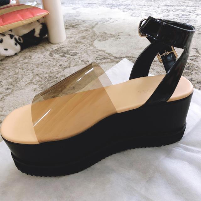 SLY(スライ)のLagua gem❤︎クリアサンダル レディースの靴/シューズ(サンダル)の商品写真