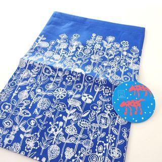 ミナペルホネン(mina perhonen)のmina perhonen ミナペルホネン 不織布  バッグ  コースター(ショップ袋)