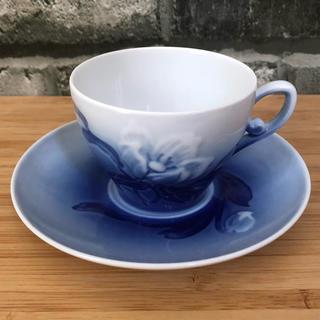 ロイヤルコペンハーゲン(ROYAL COPENHAGEN)のロイヤルコペンハーゲン デミカップ&ソーサー(食器)