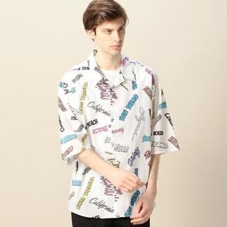 ビューティアンドユースユナイテッドアローズ(BEAUTY&YOUTH UNITED ARROWS)のVOTE MAKE NEW CLOTHES CALI BIGBEACH SHT(シャツ)