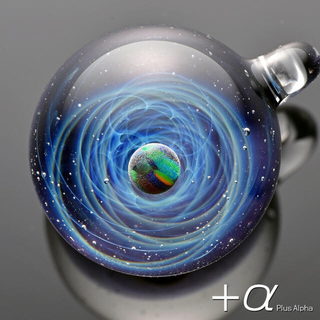 宇宙ガラス +α ブラックオパール 正規品 一点物 新品 (ガラス)
