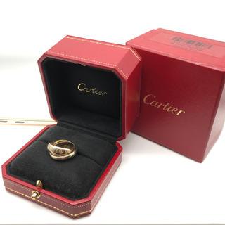 カルティエ(Cartier)のクリスマス限定 K18 Cartier カルティエ トリニティ リング 正規品(リング(指輪))