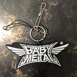 ベビーメタル(BABYMETAL)のBABYMETAL ロゴ キーホルダー(アイドルグッズ)
