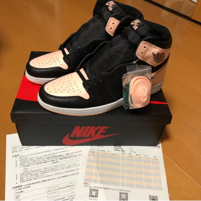 NIKE(ナイキ)のNIKE Air Jordan 1 'Black & Hyper Pink メンズの靴/シューズ(スニーカー)の商品写真