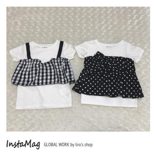 GLOBAL WORK - GLOBAL WORK♡ Tシャツ2点セット