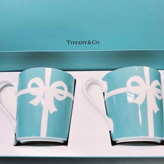 ティファニー(Tiffany & Co.)のティファニー ブルーリボン ペアマグカップ(食器)