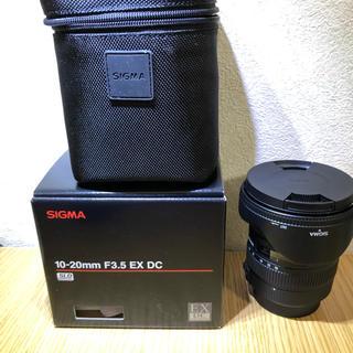 SIGMA - SIGNA 10-20mm F3.5 EX DC HSM (ペンタックス用)