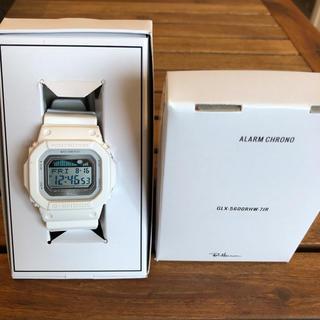 ロンハーマン(Ron Herman)のG-SHOCK×ロンハーマン別注 ホワイト GLX-5600RHW-7JR(腕時計(デジタル))