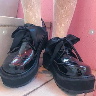 バブルス(Bubbles)のBUBBLES  厚底パンプス 厚底ローファー (ローファー/革靴)