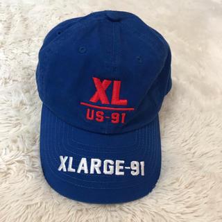 エクストララージ(XLARGE)のXLARGE(エクストララージ)キャップ(キャップ)