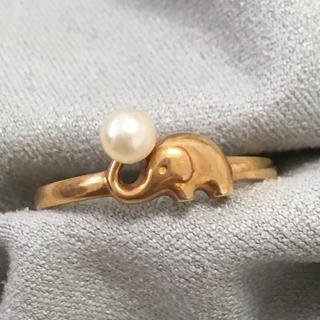 TASAKI - タサキ TASAKI 田崎パール 真珠 象リング 指輪 ゾウ