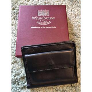 ホワイトハウスコックス(WHITEHOUSE COX)のWhitehouse Cox 2つ折り財布(折り財布)