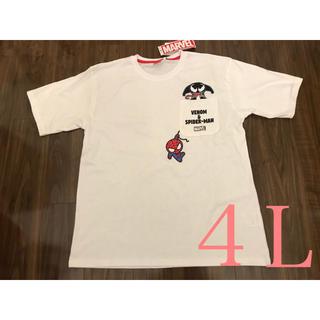 マーベル(MARVEL)のヴェノム スパイダーマン Tシャツ 4L マーベル アメコミ(Tシャツ/カットソー(半袖/袖なし))