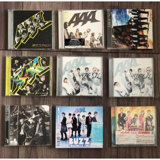 トリプルエー(AAA)のAAA CDセット (バラ売り1枚800円〜可)(ポップス/ロック(邦楽))