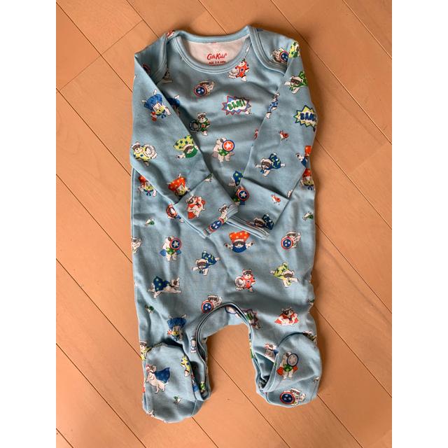 Cath Kidston(キャスキッドソン)のまる様専用♡キャスキッドソン ロンパース 3-6M キッズ/ベビー/マタニティのベビー服(~85cm)(ロンパース)の商品写真