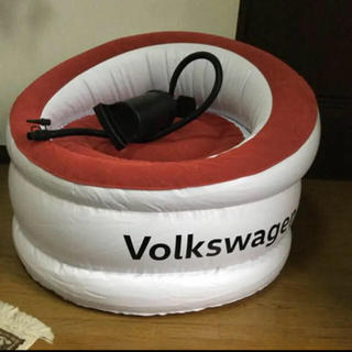 フォルクスワーゲン(Volkswagen)のVolkswagen(フォルクスワーゲン)バルーンチェア エアソファ(ノベルティグッズ)