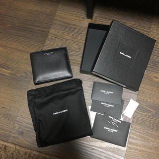 サンローラン(Saint Laurent)のSAINT LAURENT PARIS サンローランパリ 二つ折り財布(折り財布)
