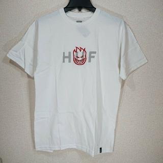 ハフ(HUF)の【M】HUF ハフ/半袖Tシャツ/SPITFIRE OG LOGO/白(Tシャツ/カットソー(半袖/袖なし))
