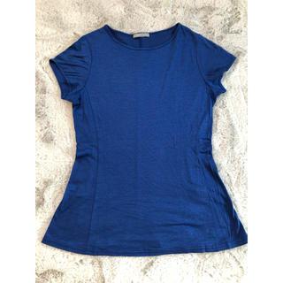 セオリーリュクス(Theory luxe)の美品☆Theoryluxe Sサイズ Tシャツ ブルー (Tシャツ(半袖/袖なし))