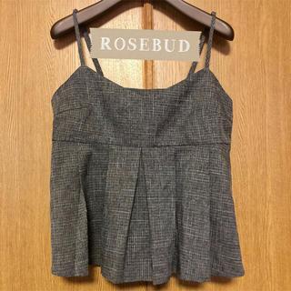 ローズバッド(ROSE BUD)のビスチェ ❤️ ROSEBUD ほぼ未使用❤️(カットソー(半袖/袖なし))