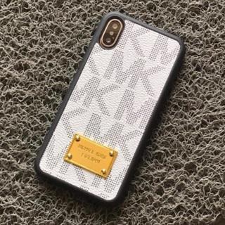 マイケルコース(Michael Kors)の新品のiPhone7/8 ケース ハードケースカバー ホワイト(iPhoneケース)