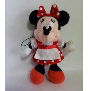 ミニーマウス(ミニーマウス)のミニーマウス ぬいぐるみストラップ(ぬいぐるみ)